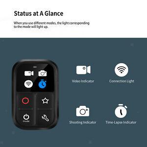 Smart Remote Control Wireless mit LED Anzeige für GoPro Hero 8/9/Max