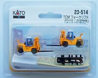 Kato 23-514 Forklift (Lift) TCM FD115 JR Freight Color (N scale)