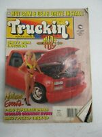 TRUCKIN MAGAZINE SEPTEMBER 1991 CHEVY DUAL INJECTION HOT CAM GEAR DRIVE INSTALL
