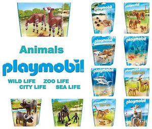 PLAYMOBIL ANIMALS WILD LIFE ZOO SEA CITY LIFE ASSORTMENT *CHOOSE YOUR FAVOURITE*