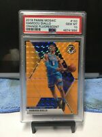 2019 Mosaic Hamidou Diallo Orange Fluorecent Psa 10 Gem Mint  15/25