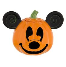 Disney Parks Mickey Mouse Halloween Pumpkin Jack O' Lantern Votive Candle Holder