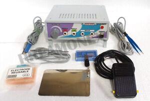 New Electro surgical Cautery Diathermy Bifrecator Monopolar Bipolar CauteryUnit