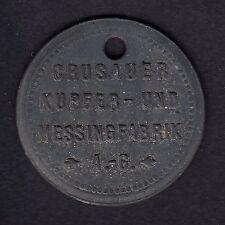 """Flensburg -Crusauer Kupfer- und Messingfabrik A.-G.- Werkzeugmarke """"459"""""""