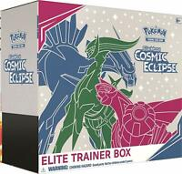 Pokemon TCG Cosmic Eclipse Elite Trainer Box - 8 Booster Packs - Sun & Moon NEW