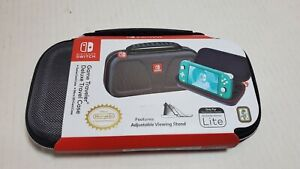 RDS Game Traveler Deluxe Travel Case for Nintendo Switch Lite - Gray New