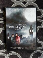 An American Werewolf In London Dvd - Full Moon Two Disc Edition - 1981 Horror