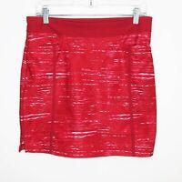 Adidas Golf Ultimate Adistar Printed Skort Skirt Shorts sz XS Hop Pink White