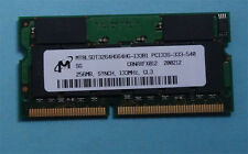 256MB RAM Arbeit Speicher Dell Latitude C800 C 800 C500