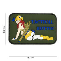AIRSOFT morale patch PVC 3D Tactical Hottie