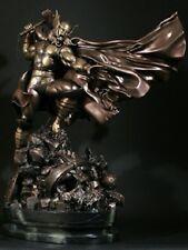 Thor Action Faux Bronze Statue New 2012 Bowen Designs  Marvel Comics Amricons