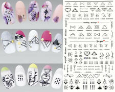 1 Sheet Nail Art Letter Sticker Water Decals Finger Art Transfer Sticker DIY New