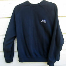Colonial Golf Mens Navy Blue Bank Of America Cotton Pullover Size M Medium