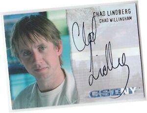 CSI New York - CS-NY-A7 Chad Lindberg - Chad Willingham Auto/Autograph Card (F)