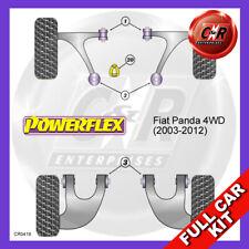 Fiat Panda 4WD (03-12)  Lower Torq Mount Fast Road/Track Powerflex Full Bush Kit