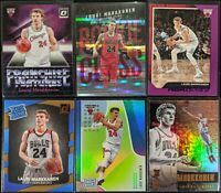 Lot of (6) Lauri Markkanen, Including Rookie Class Horizon, Donruss/Essential RC