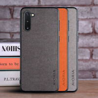Case for Samsung Galaxy Note 10 Lite Plus Note 9 8 Textile leather case cover