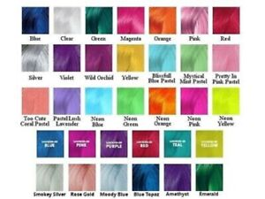 Pravana ChromaSilk Vivids / Neon / Pastel 90ml 3oz Hair Colors NEW (Pick Shades)