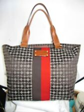 #BEAUTIFUL XLARGE SIGNATURE KATE SPADE NEW YORK TOTE PURSE hand bag BROWN