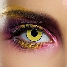 Lentille de couleur fantaisie festive chapelier fou - mad hatter Fancy lenses