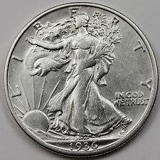 1936-s Walking Liberty Half.  A.U.   (INV. A)