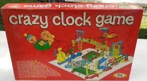 Crazy Clock Game Ideal 1964