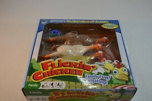 Flickin' Chicken Family Tailgating Fun Chicken Throwing Game New