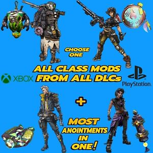 Borderlands 3 All Class Mods In One* , PS5 PS4 XBox One, X, S