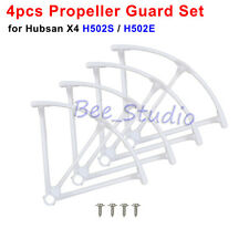 4PCS Original Propeller Guard Cover Hubsan X4 H502S H502E RC Drone Quadcopter W