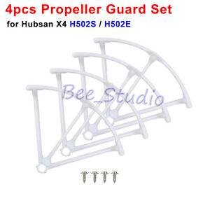 4PCS Original Propeller Guard Cover For Hubsan X4 H502S H502E Drone Quadcopter