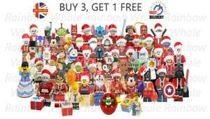 2020 Christmas Mini Figures 58 Models Grinch Santa Yoda Christmas Minifigure