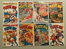 Bronze Age Plastic Man lot 10 different from #11-20 avg 5.0 VG FN (1976-77 1st S