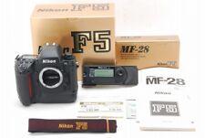 [Almost Unused] Nikon F5 35mm Film Camera with MF-28 Multi-Contorl Back from JPN