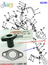 Yamaha RD350YPVS RZ350 RD350LC Radiator Hose Joint & Gasket NOS PIPE 4L0-12479-