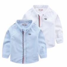 Camisas y camisetas de niño de 2 a 16 años azul sin marca