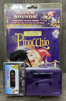 Super Sounds Pinocchio And Leo The Lion Cassette Player And Books New Sealed