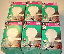 Lot de 6 ampoules économiques Globes E27 11W (General Electric)