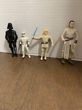 star wars toy lot Stormtrooper 1995 Kenner Bendy Luke Black Series Rey Darth