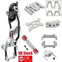 For 1/10 AXIAL SCX10 II 90046 313mm Wheelbase Chassis Frame Prefixal Gearbox #UK