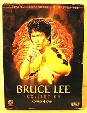"coffret 4  DVD film "" BRUCE LEE "" karaté"