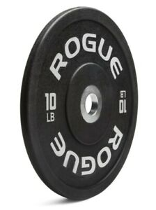 PAIR 10lb Rogue Fitness Urethane Bumper Weight Olympic Plates NEW