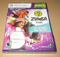 Zumba Kids (Xbox 360) Brand New / Fast Shipping