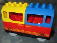 Lego Duplo Eisenbahn Personen Waggon f. Schienen Wagon aus 10874 10508 10810
