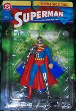 DC DIRECT COLLECTIBLES SERIES 1 RARE CYBORG SUPERMAN FIGURE DEATH OF SPRMN 52210