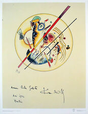 Aquarelle aus Dem, 1922 by Wassily Kandinsky Art Print Abstract Poster 27.5x35.5