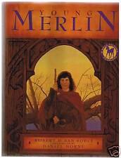 Young Merlin - Robert D. San Souci sc/nf 1996