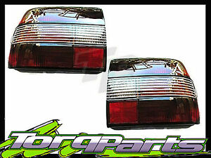 TAILLIGHTS PAIR SUIT HOLDEN COMMODORE VN CALAIS TINTED SMOKEY TAILLAMP TAIL