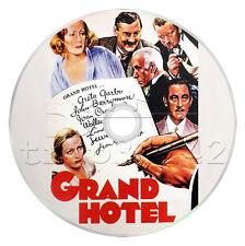 Grand Hotel (1932) Greta Garbo, John Barrymore Drama, Romance Movie/Film on DVD
