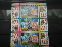 N594 STAMPS  PHILIPPINES 1977 AIRMAIL/AMPHILEX MI BLOCK 10 A MNH