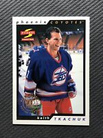 1996-97 PINNACLE SCORE KEITH TKACHUK DEALERS CHOICE ARTISTS PROOF #47